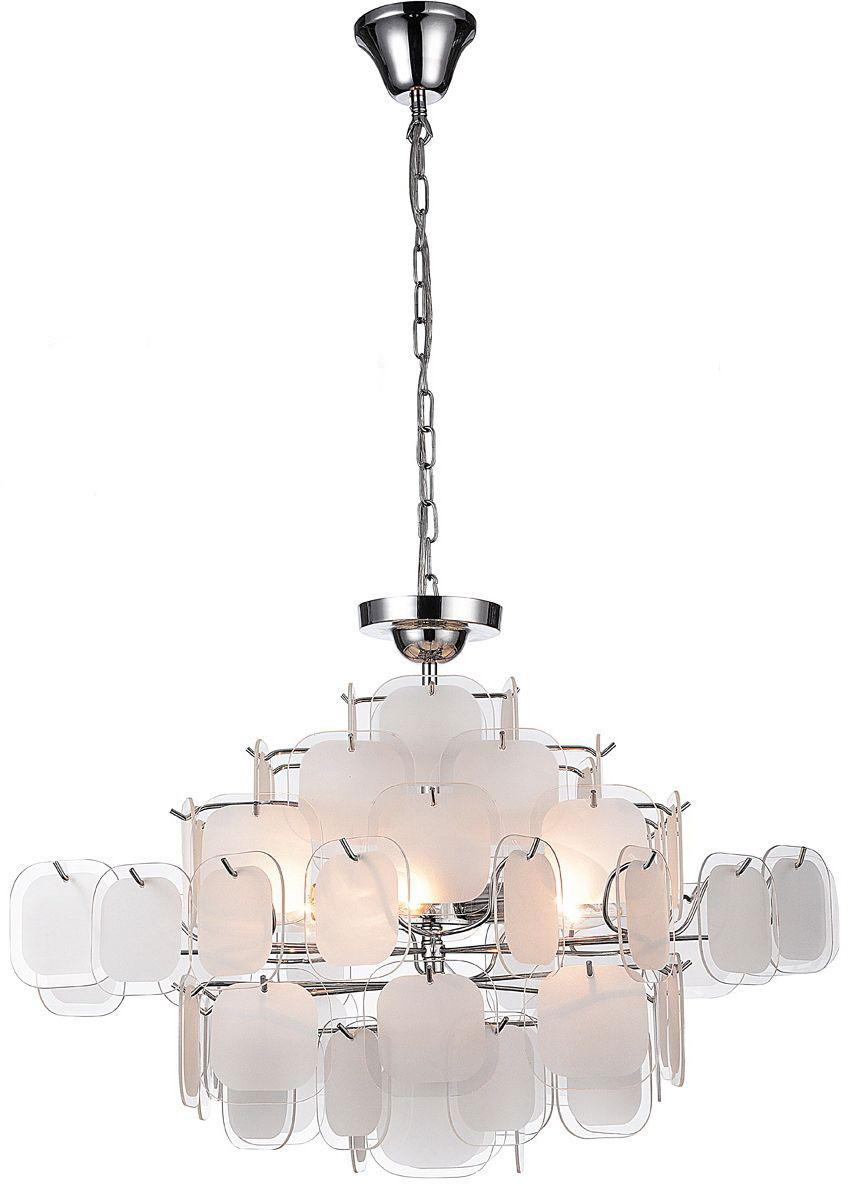 Люстра подвесная Favourite Glass-pieces, 6 х E14, 40W. 1424-6PC1424-6PC