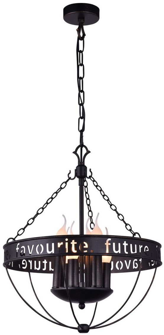 Люстра подвесная Favourite Fortune, 6 х E14, 40W. 1502-6P1502-6P
