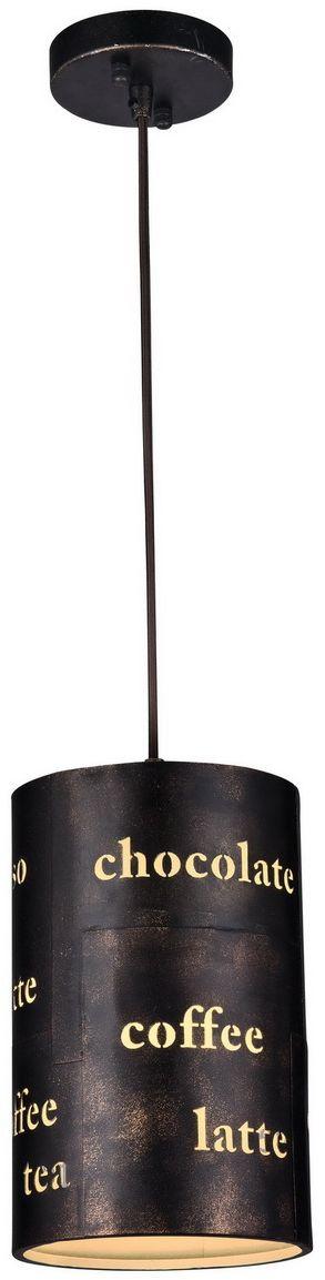 Светильник подвесной Favourite Espresso, 1 х E27, 60. 1503-1P1503-1P