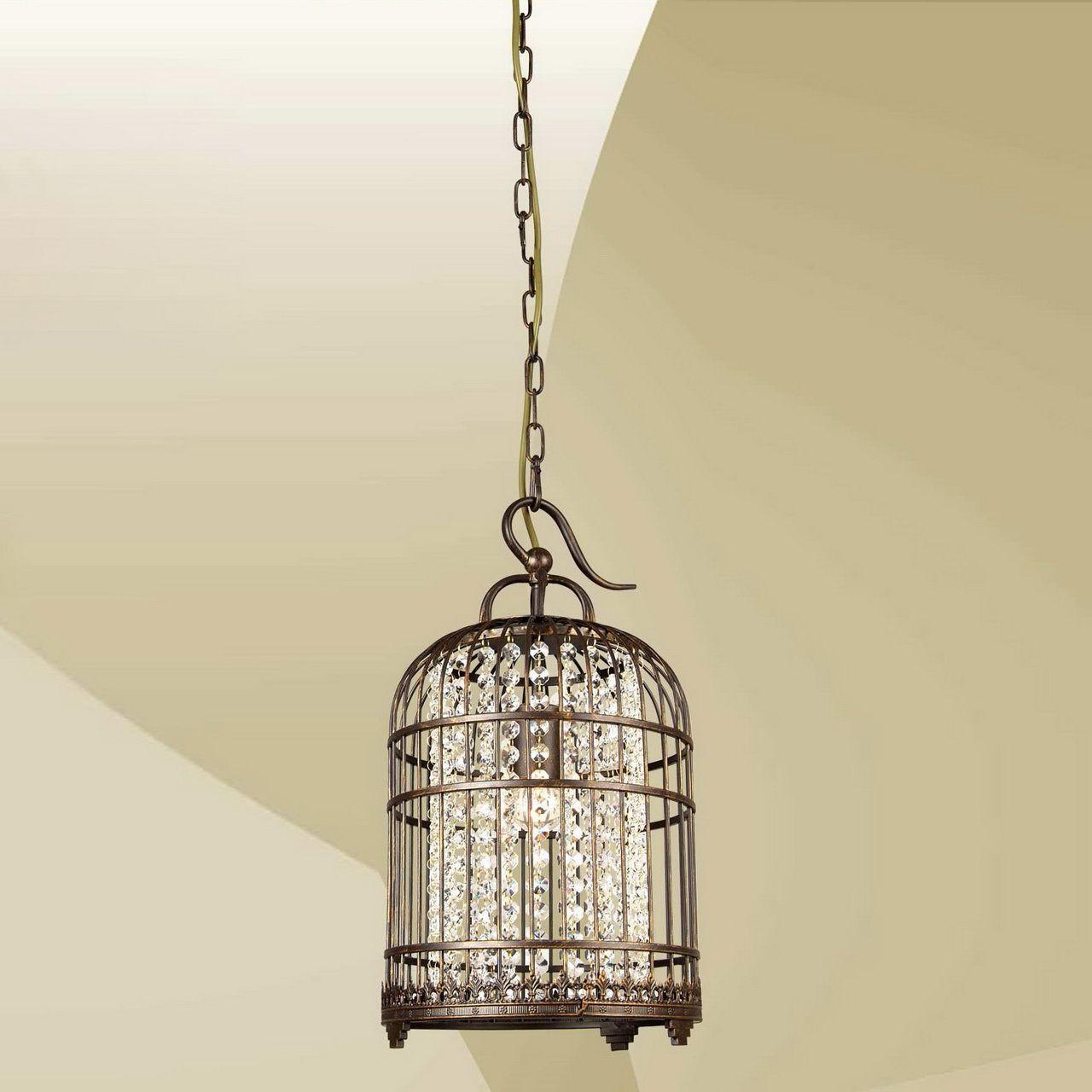 Светильник подвесной Favourite Cage, 1 х E27, 60. 9578-1P9578-1P