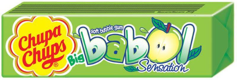 Chupa-Chups Big Babol Sensation жевательная резинка, 24 шт по 21 г chupa chups xxl petit карамель ассорти 24 шт по 29 г
