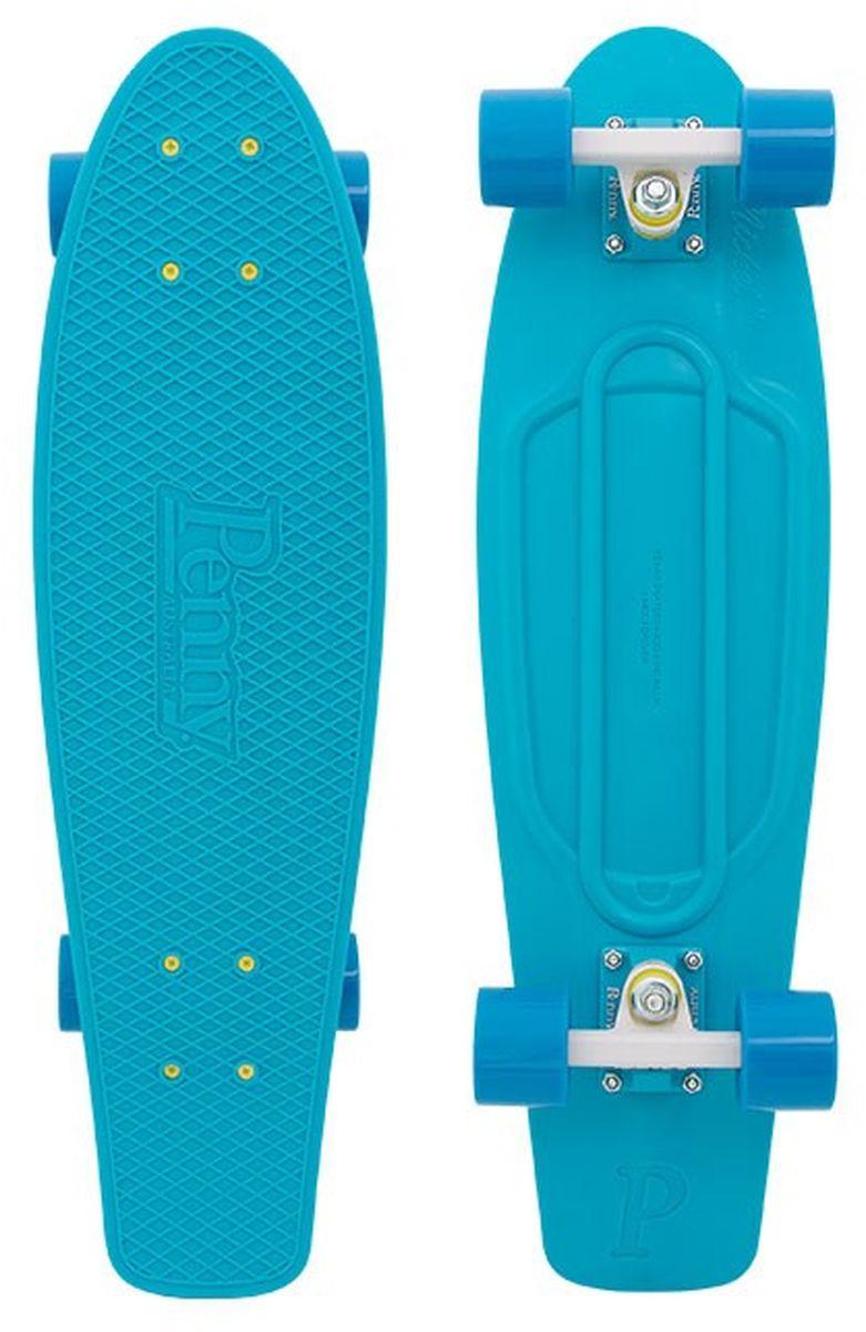 Пенни борд Penny  Original , цвет: лазурный, дека 57 х 15 см - Скейтборды и пенни борды