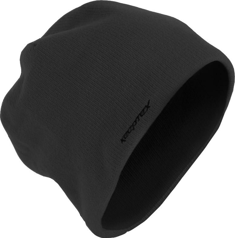 Шапка Keeptex, цвет: черный. GH653. Размер 56/59GH653Вязаная шапка имеет трехслойную структуру. Внутренний слой, непосредственно соприкасающийся с кожей головы и волосяным покровом, изготавливается из антибактериального микрофлиса, создающего ощущение мягкости, тепла и комфорта. Средний слой составляет специальная дышащая мембрана PORELLE ®, разработанная на основе современных нанотехнологий. Высокое качество мембраны, ее уникальные свойства делают изделия водонепроницаемыми, эластичными, надежно защищающими вашу голову от ветра и влаги, а также гарантируют их длительное использование. Наружный слой выполняется из невпитывающих и непроводящих влагу нитей акрила, которые делают изделия долговечными, прочными, сохраняющими форму и внешний вид. Вязаная шапка специально разработана для использования на открытом воздухе в холодное время года. Внутренний слой – 100% микрофлис.Мембранная вставка - водонепроницаемая дышащая ветронепроницаемая полиуретановая мембрана PORELLE SPORT ® 25 микрон.Внешний слой – 100% акрил.