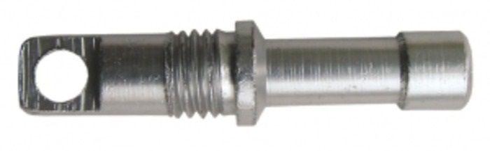 Концевики дуг Tramp, цвет: металл, Диаметр 8,5 мм, 10 шт. TRA-014TRA-014Наконечники с резьбой Tramp выполнены из алюминия. Они предназначены для установки на крайние секции дюралевой дуги для их фиксации в одну дугу с помощью резинки. В комплекте 10 штук.Диаметр: 8,5 мм.