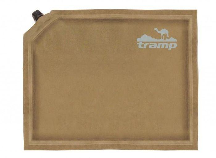 Сиденье самонадувающееся Tramp  Комфорт плюс , цвет: бежевый, 30 х 40 х 7 см. TRI-014 - Подушки, пледы, коврики