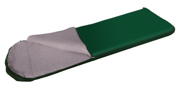Спальный мешок Tramp Baikal 300, цвет: зеленый