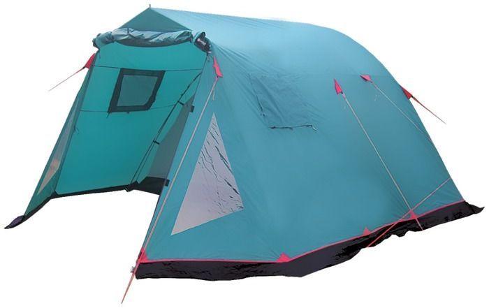 Палатка кемпинговая Tramp Baltic wave 4, цвет: зеленый палатка tramp stalker 4