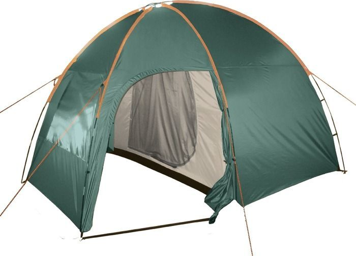 Палатка кемпинговая Тотеm Apache 4, цвет: зеленый. TTT-007,09TTT-007.09Двухслойная палатка Тотеm идеальна для туристических походов в весеннее, летнее и осеннее время. Может пригодиться мотоциклистам и охотникам. Двухслойная кемпинговая палатка с двумя входами и большим тамбуром.Вход спального отделения продублирован москитной сеткой. Все швы проклеены.Размер: 220 х 330 см. Количество мест: 3. Тент: полиэстер. Внутренняя палатка: дышащий полиэстер. Каркас: фибергласс 9,5/11 мм. Дно: армированный полиэтилен (терпаулинг). Количество входов: 2. Полный вес: 5,9 кг. Количество тамбуров: 1.Размер спального места: 190 х 180 см.Высота: 205 см. Размер тамбура: 130 см.