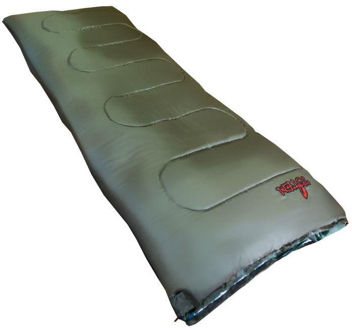 Спальный мешок Тотеm Ember R, цвет: олива, правосторонняя молния. TTS-003