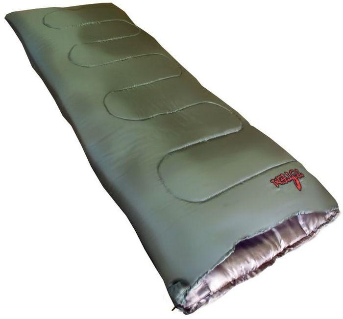 Спальный мешок Тотеm Woodcock L, цвет: олива, левосторонняя молния. TTS-001