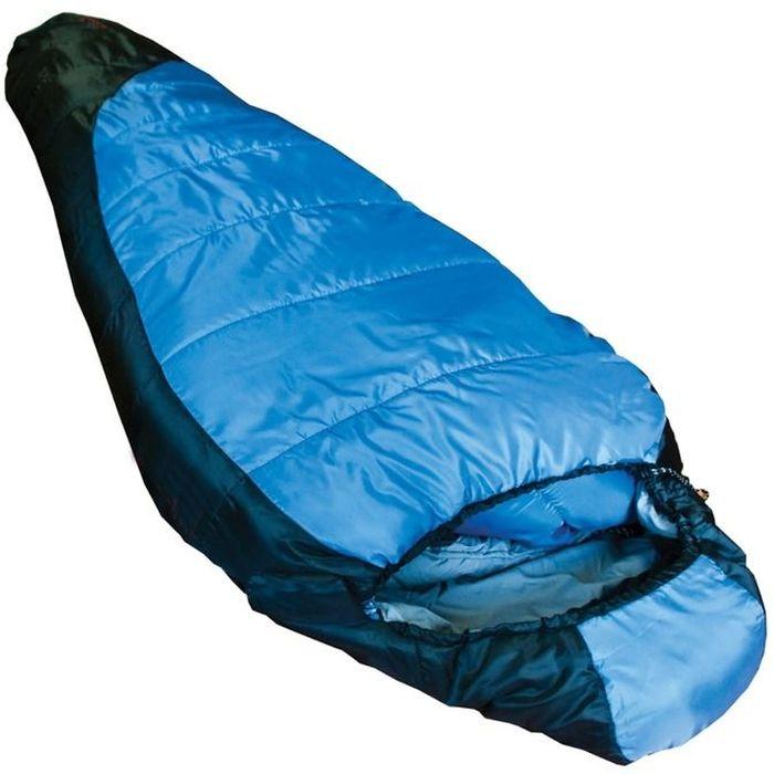 Спальный мешок Tramp Siberia 3000 R, цвет: индиго, черный, правосторонняя молния