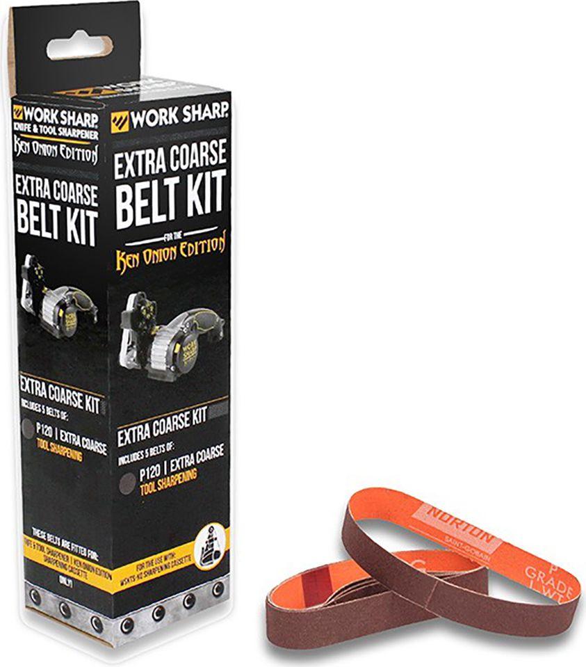 Набор ремней абразивных Work Sharp  P120 Extra Course , для электроточилки WSKTS-KO, 5 шт - Ножи и мультитулы