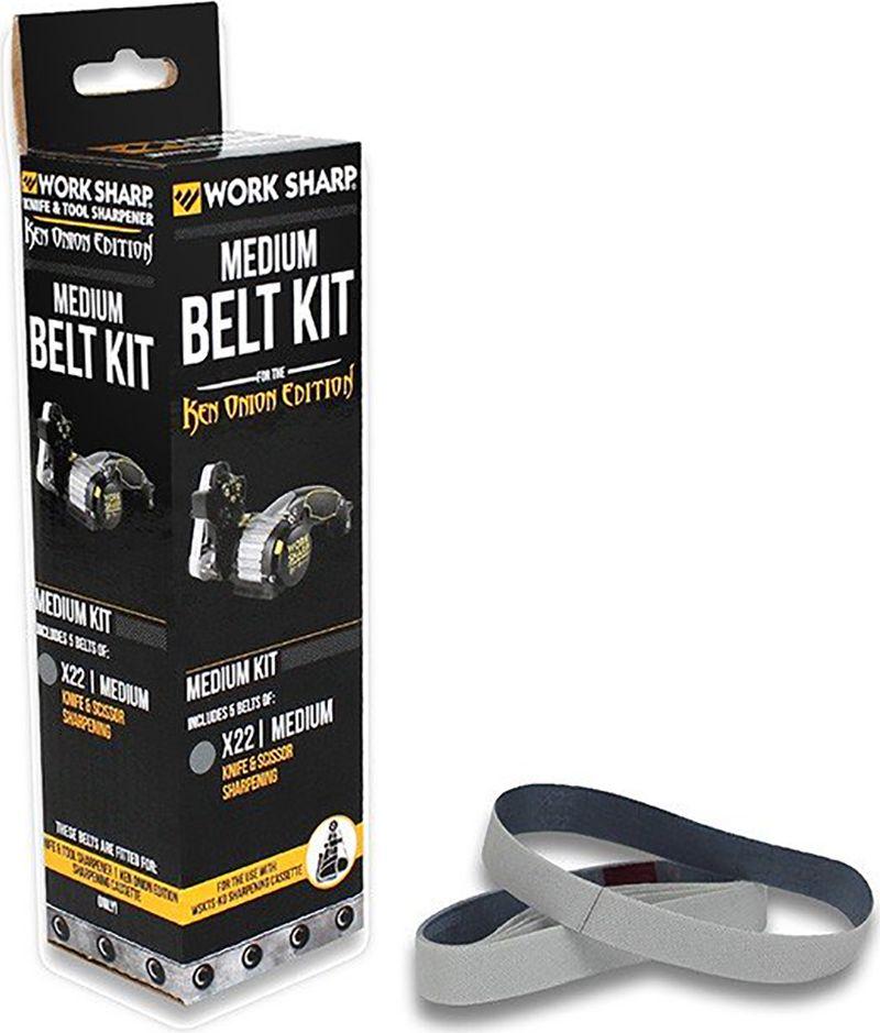 Набор ремней абразивных Work Sharp  X22 Medium , для электроточилки WSKTS-KO, 5 шт - Ножи и мультитулы
