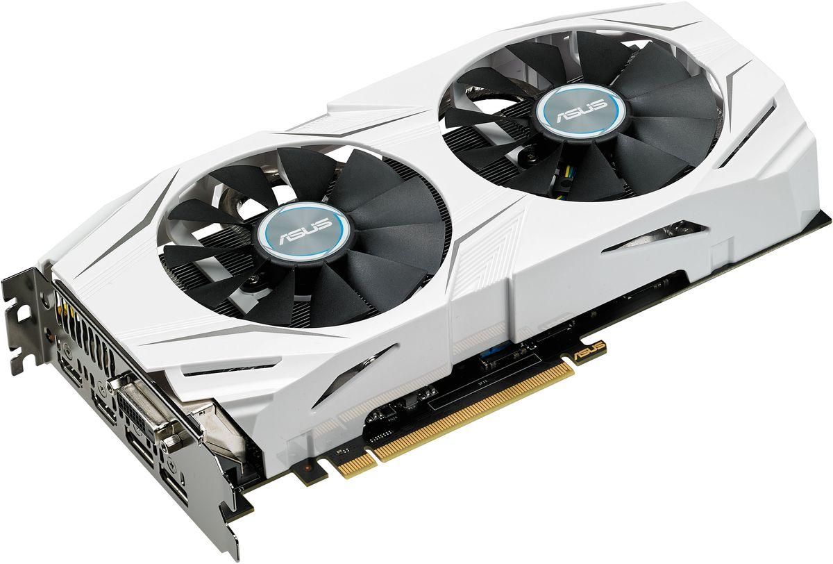 ASUS Dual GeForce GTX 1060 3GB видеокартаDUAL-GTX1060-3GASUS Dual GTX 1060 – это геймерская видеокарта с эффективным охлаждением, обладающая двумя вентиляторами с оптимизированной формой крыльчатки. При ее изготовлении применяются высококачественные компоненты, а ее оформление выполнено в едином стиле с материнской платой ASUS X99-A II. Данное устройство совместимо с эксклюзивной разгонной утилитой GPU Tweak II.Дизайн данной видеокарты соответствует внешнему виду материнской платы ASUS X99-A II. Яркий облик сочетается с современными технологиями: ASUS Dual GTX 1060 поддерживает DirectX 12 и полностью совместима с операционной системой Windows 10.Два высококачественных вентилятора с оптимизированной геометрией крыльчатки, входящие в состав системы охлаждения данной видеокарты, усиливают воздушный поток и увеличивают статическое давление по сравнению с кулером референсной модели. При этом они производят в три раза меньше шума.В современных видеокартах ASUS применяются отборные компоненты (технология Super Alloy Power II), которые обладают непревзойденной энергоэффективностью, пониженной рабочей температурой и улучшенными характеристиками. Высокому качеству готового устройства также способствует полностью автоматизированный процесс производства (технология Auto-Extreme). Видеокарта ASUS Dual GTX 1060 наделена двумя разъемами HDMI, что позволяет одновременно подключить и стандартный монитор, и систему виртуальной реальности.В комплект поставки современных видеокарт ASUS входит эксклюзивная утилита GPU Tweak, с помощью которой можно получить полный контроль над графической подсистемой компьютера: изменять частоты и напряжения, настраивать работу вентиляторов, обновлять BIOS и драйверы, следить за состоянием видеокарты и т.д. Утилита предлагает два режима: упрощенный для начинающих пользователей и продвинутый для опытных оверклокеров.В комплект поставки видеокарты входит утилита XSplit Gamecaster, предназначенная для записи и трансляции процесса игры в режиме реального вр