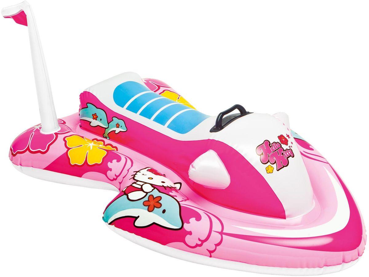 Надувной плотик Intex Hello Kitty, 117 х 77 см. с57522с57522Надувной плот Intex Hello Kitty станет незаменимым атрибутом летнего отдыха. Плот выполнен из прочного материала ярких цветов и снабжен удобной ручкой, чтобы ваш ребенок крепче держался во время игр и не соскальзывал в воду. Яркий дизайн плота сделает его не только незаменимым атрибутом летнего отдыха, но и дополнением ландшафтного дизайна участка. Характеристики: • Для детей от 3 лет; • Размер: 117 х 77см; • Игрушка из винила, толщина 0.25 мм; • Пластиковая ручка; • Ремонтный комплект.