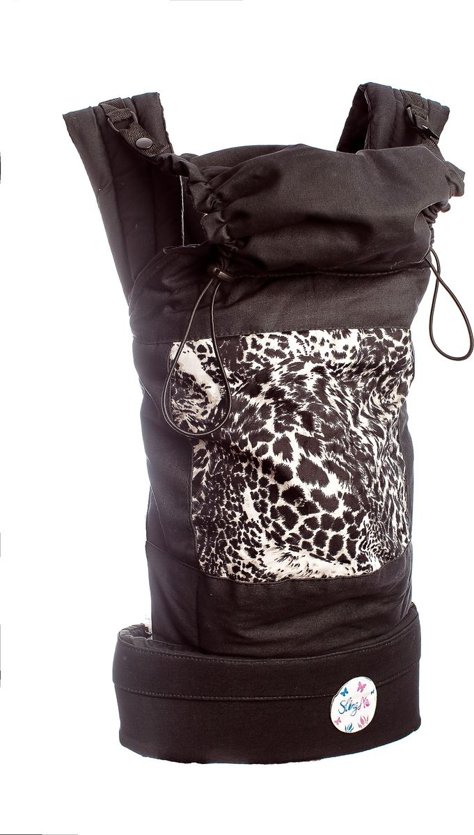SlingMe Рюкзак-переноска Леопард Классик