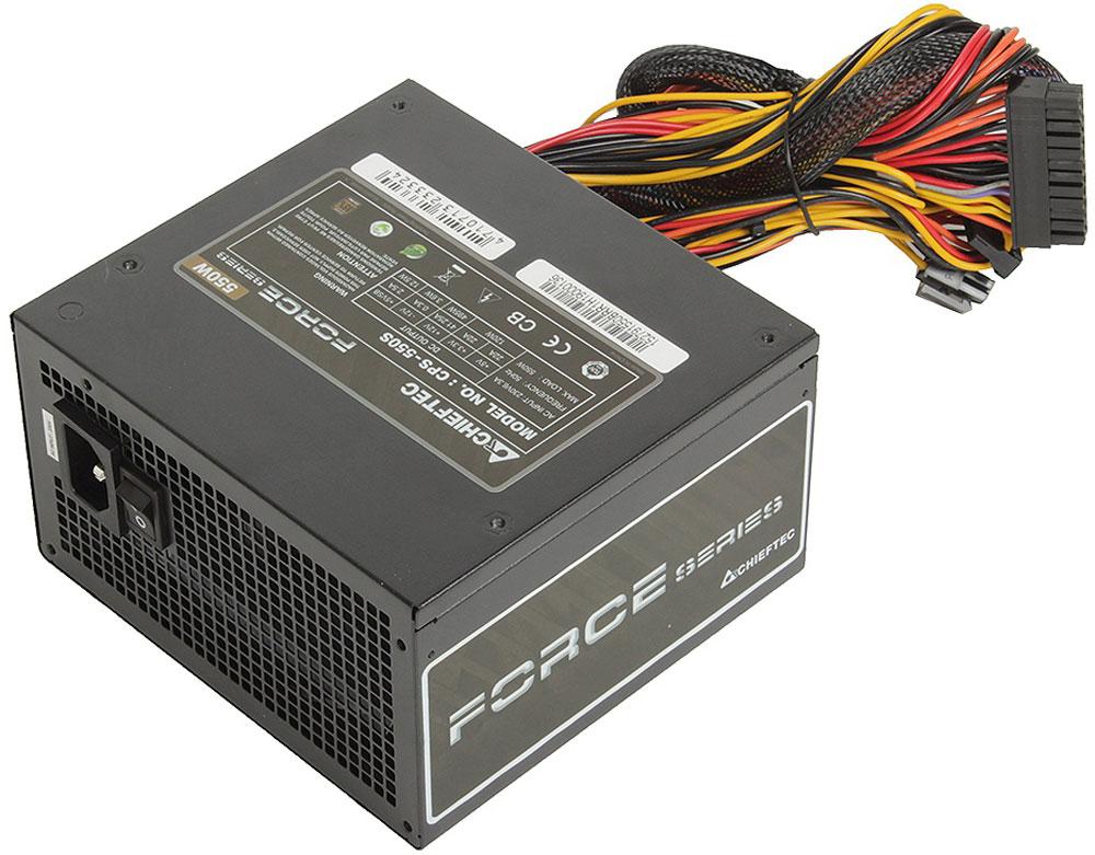 Chieftec CPS-550S блок питания для компьютера - Комплектующие для компьютера