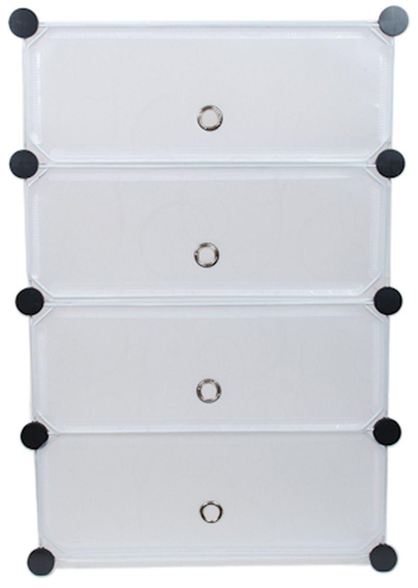 Шкаф модульный для хранения обуви HomeMaster, 46 х 36 х 73 см вешалка напольная homemaster телескопическая 79 х 42 см высота 93 160 см