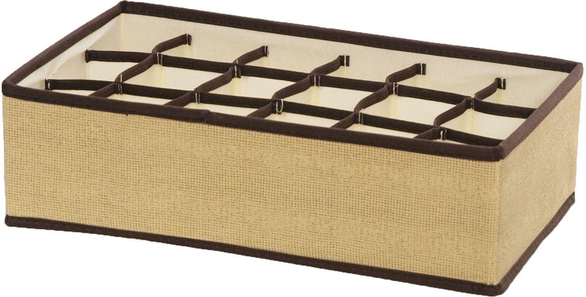 Органайзер HomeMaster, 18 ячеекSTI001Органайзер HomeMaster на 18 ячеек предназначен для хранения аксессуаров и нижнего белья. Он обеспечит бережное хранение вещей и позволит организовать внутреннее пространство вашего дома. Теперь вы быстро найдете необходимую вещь. Органайзер можно расположить, как на полке, так и в выдвижном ящике вашего шкафа.