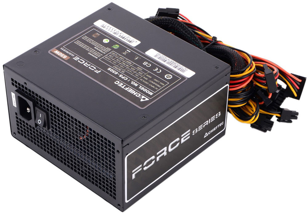 Chieftec CPS-650S блок питания для компьютера4710713233331Блок питания Chieftec CPS-650S предназначен для пользователей-энтузиастов.Вновь спроектированная вентиляционная сетка обеспечивает значительное улучшение воздушного потока, в то время как 120-мм сверхтихий вентилятор имеет оптимизированный контроль температуры. С КПД 85%, она защищает окружающую среду и кошелек.Для безопасности и долговечности блока питания и вашего компьютера предусмотрена защита от перенапряжений, перегрузок и короткого замыкания в цепи.