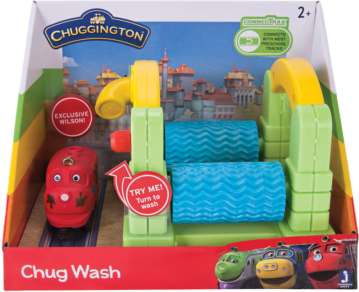 Chuggington Игровой набор Мойка die cast игровой набор большая стройка с брюстером chuggington