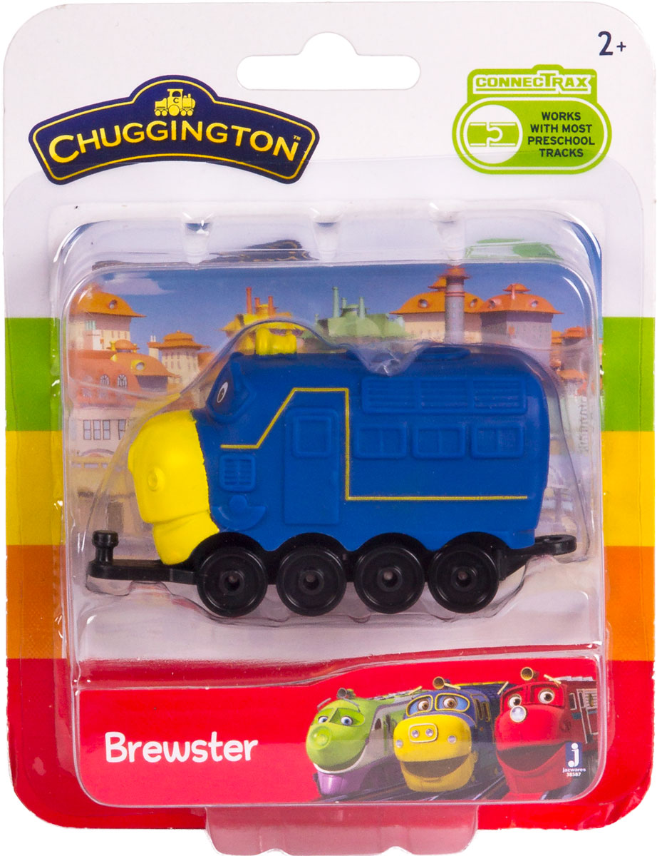Chuggington Паровоз Брюстер 38587