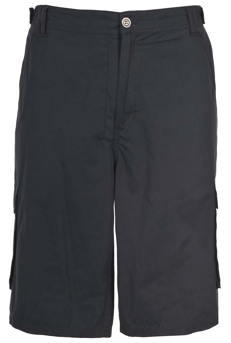 Шорты мужские Trespass Tidalo_X, цвет: темно-серый. MABTSHI10028. Размер L (52)MABTSHI10028Мужские шорты Trespass Tidalo_X выполнены из хлопковой ткани. Модель застегивается на молнию и пуговицу. Пояс дополнен шлевками. Спереди у изделия два прорезных кармана, боковые стороны дополнены накладными карманами.