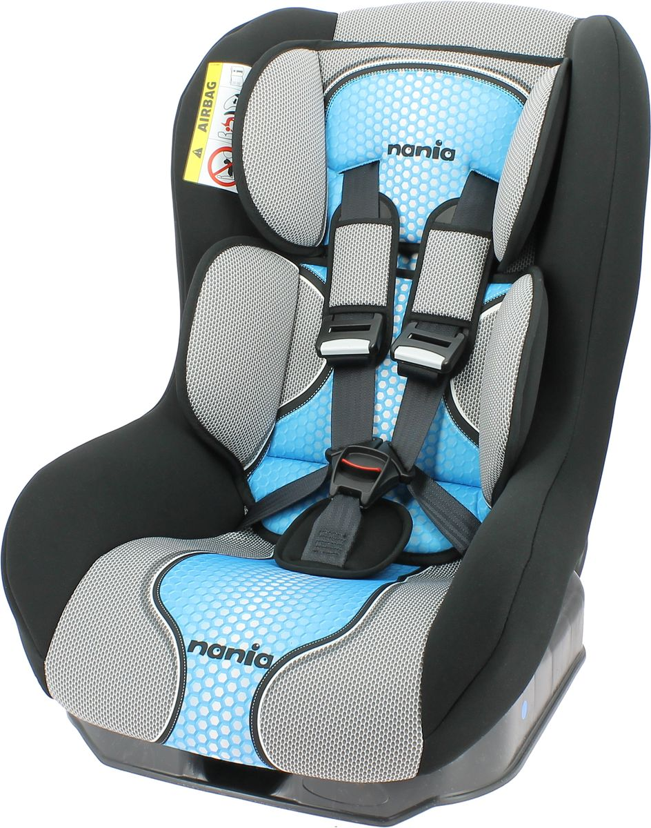 Nania Автокресло Driver FST от 0 до 18 кг цвет серый голубой
