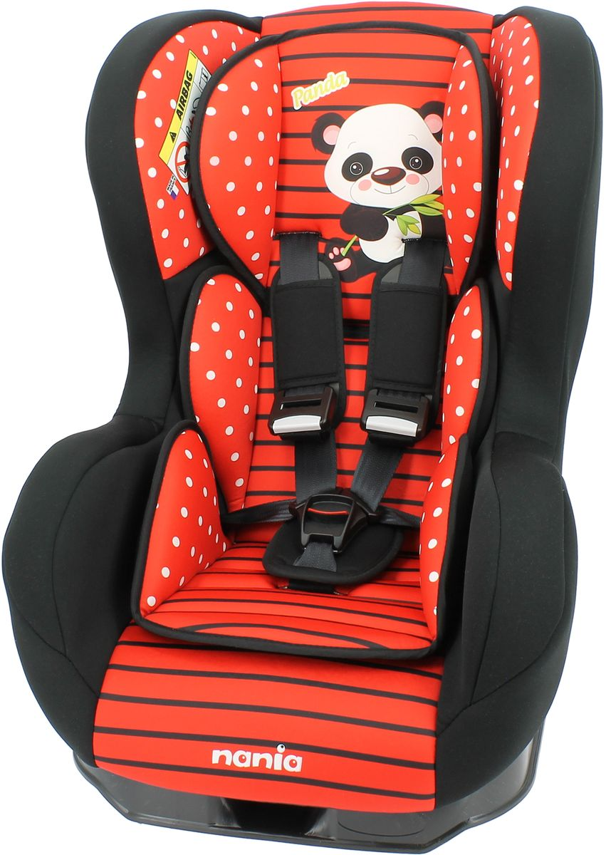 Nania Автокресло Cosmo SP от 0 до 18 кг цвет panda red