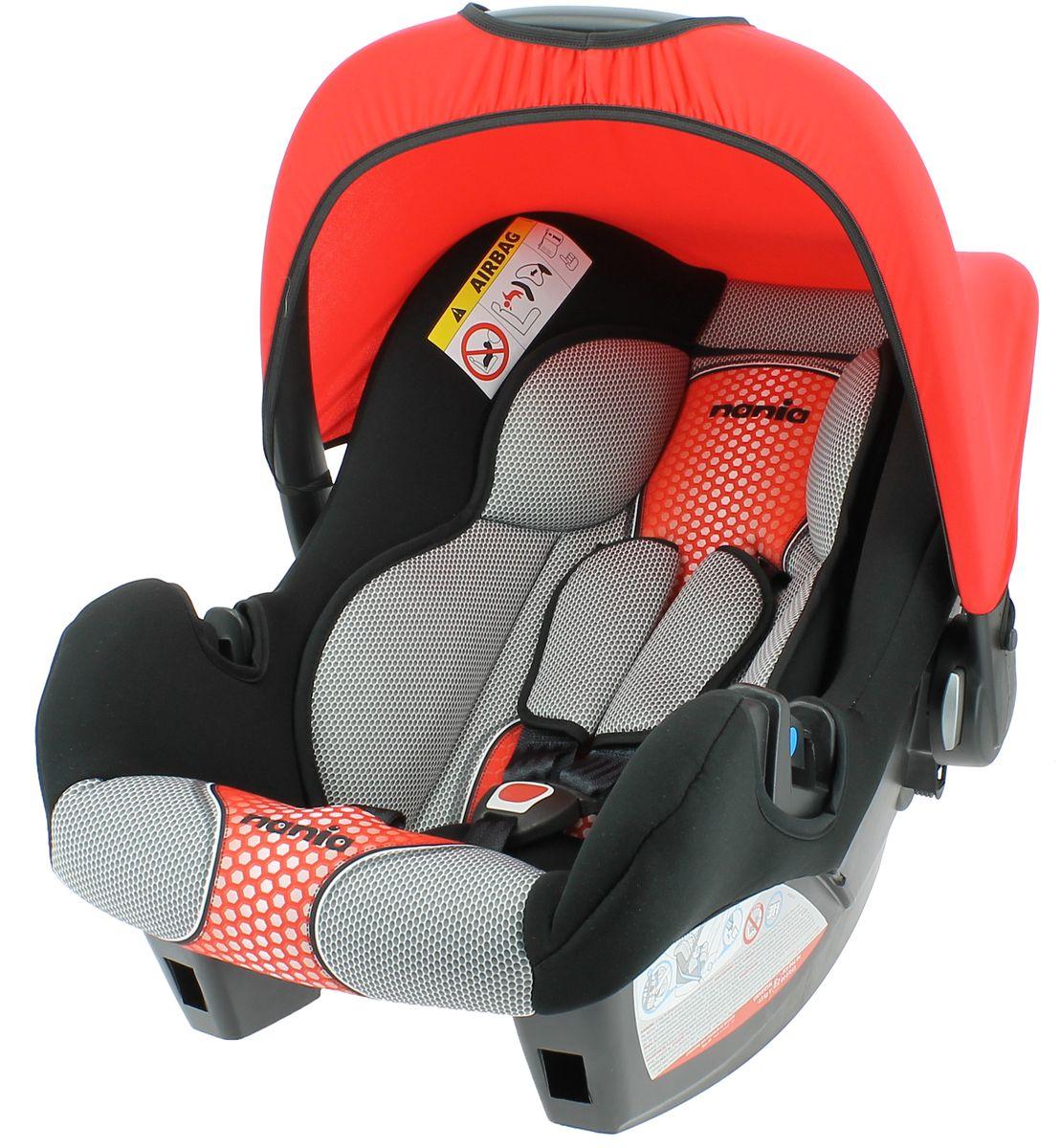 Nania Автокресло Beone SP FST от 0 до 13 кг цвет pop red484607Автокресло nania Beone SP является самым безопасным креслом в своей категории. За небольшие деньги вы получаете кресло, получившее четыре звезды из пяти во всех европейских краш-тестах.Nania Beone SP было разработано на основе требований безопасности, а также ортопедических факторов: мягкие обивка и подушки, а анатомическая форма, учитывающая особенности новорожденного ребенка,nania Beone SP обеспечивает комфорт даже в дальних поездках.Система боковой защиты Side Protection (SP) обеспечивает необходимую безопасность даже при боковом столкновении. 3-х точечные ремни безопасности можно регулировать по длине и высоте.Обивка выполнена из 100% полистирола, которую легко снимается и моется.Серия FIRST - базовая версия автокресла, имеет простой дизайн, но при этом гарантирует европейское качество иобеспечивает безопасность пассажира. Кроме того предлагает дополнительный комфорт за счет подушек в районе головы и таза, которые при необходимости можно убрать.
