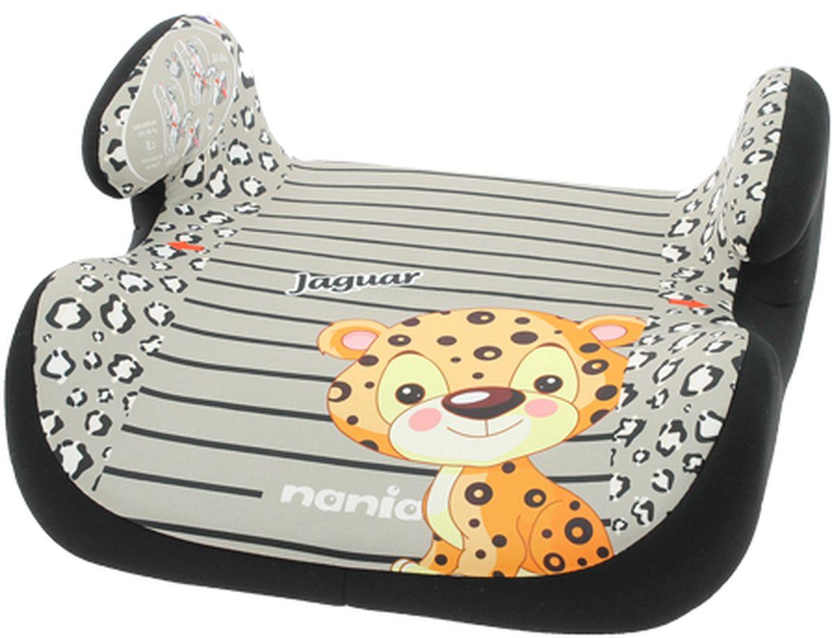 Nania Автокресло-бустер Topo Comfort Jaguar от 15 до 36 кг цвет серый