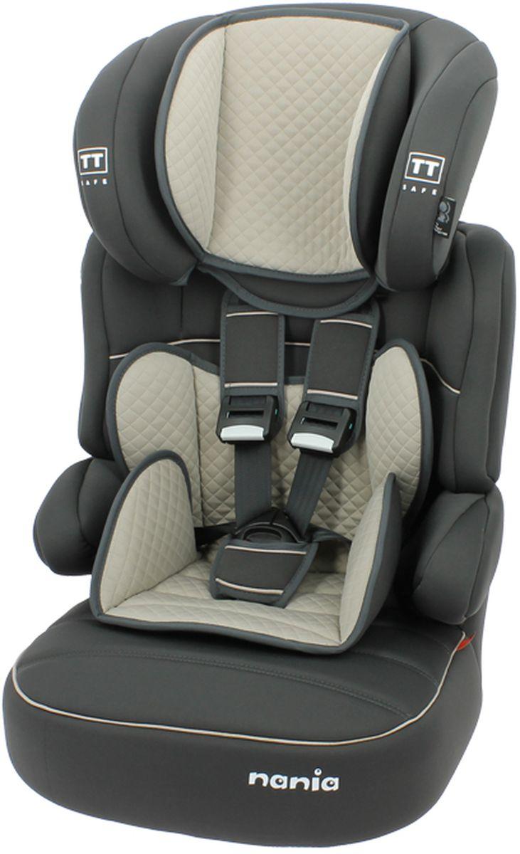 Nania Автокресло Beline SP LTD от 9 до 36 кг цвет quilt shadowWTID03Автокресло Nania Beline SP относится кгруппе 1/2/3, от 8 месяцев до 12 лет (9 - 36 кг). Соответствует стандартам ECE R44/04. Nania Beline SPэто два кресла в одном. Оно охватывает все возрастные группы в возрасте примерно от 8 месяцев до 12 лет (когда ребенка вавтомобиле уже можно перевозить без специального удерживающего устройства) благодарярегулируемой по высоте спинке. Когда ребенокподрастет, спинку автокресла можно отстегнуть и использовать только бустер.Автокресло Nania Beline SP было разработано согласно самым жестким требованиям безопасности, а также учитывая ортопедические факторы:мягкая приятная на ощупь обивка и анатомичная форма. Ваш ребенок будет чувствовать себя комфортно даже в дальних поездках. Широкие мягкие подголовник, спинка и подлокотники обеспечат дополнительный комфорт и безопасность маленького пассажира даже в случаебокового столкновения. Высоту подголовника можно регулировать по высоте, кресло растет вместе с Вашим ребенком.Все тканевые части легко снимаются и стираются.Серия LIMITED - ограниченная серия. Кресло nania Beline SP Limited является вершиной исполнения кресла nania Beline SP. Верхняя обивкавыполнена из материала самого высокого качества.