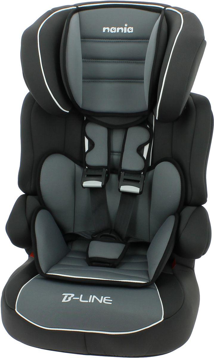 Nania Автокресло Beline SP LX от 9 до 36 кг цвет черный серый -  Автокресла и аксессуары