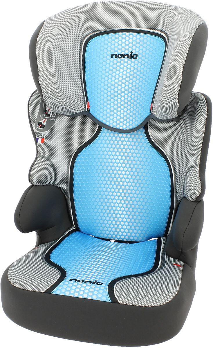 Nania Автокресло Befix SP FST от 15 до 36 кг цвет серый голубой