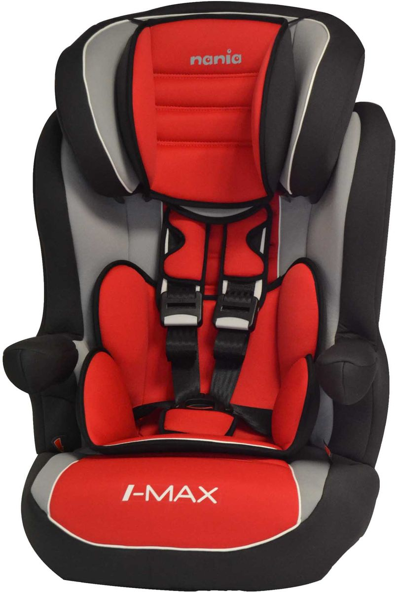 Nania Автокресло Imax SP LX от 9 до 36 кг цвет agora carmin -  Автокресла и аксессуары