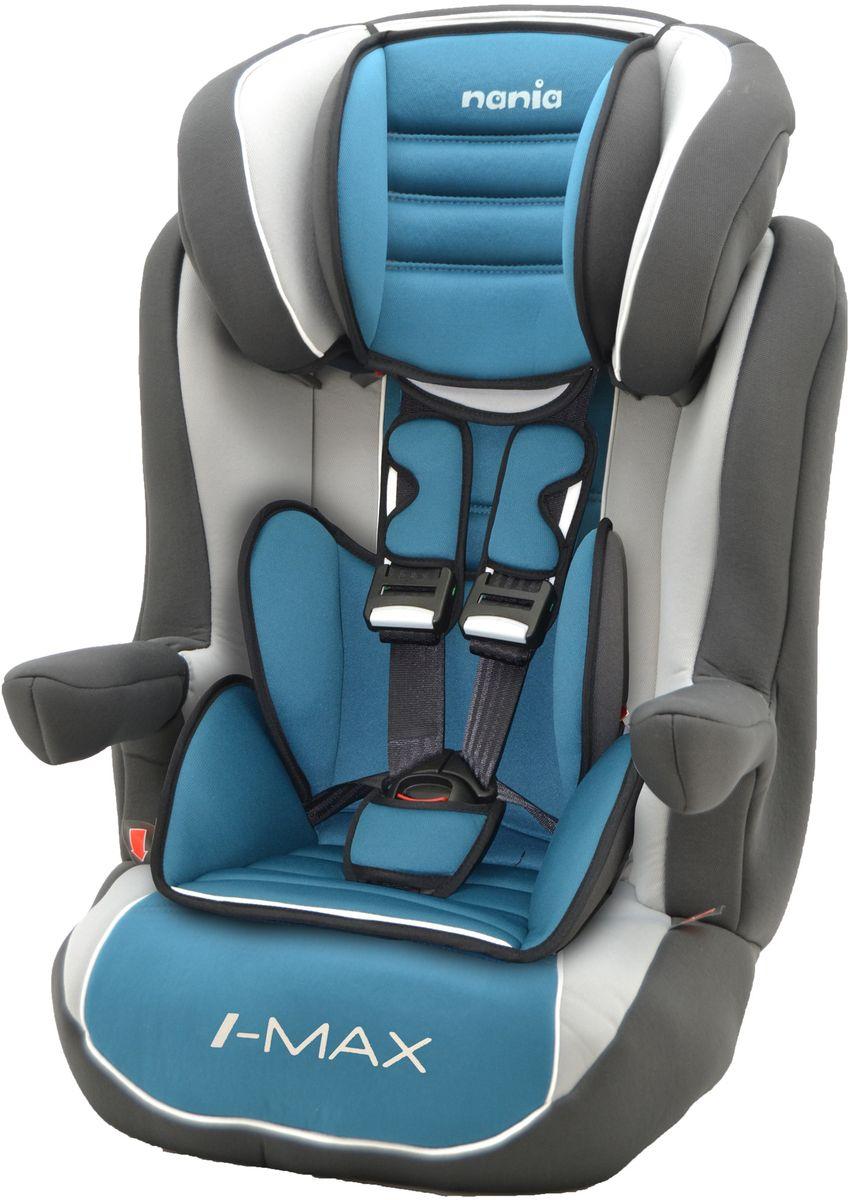 Nania Автокресло Imax SP LX ISOFIX от 9 до 36 кг цвет agora petrole -  Автокресла