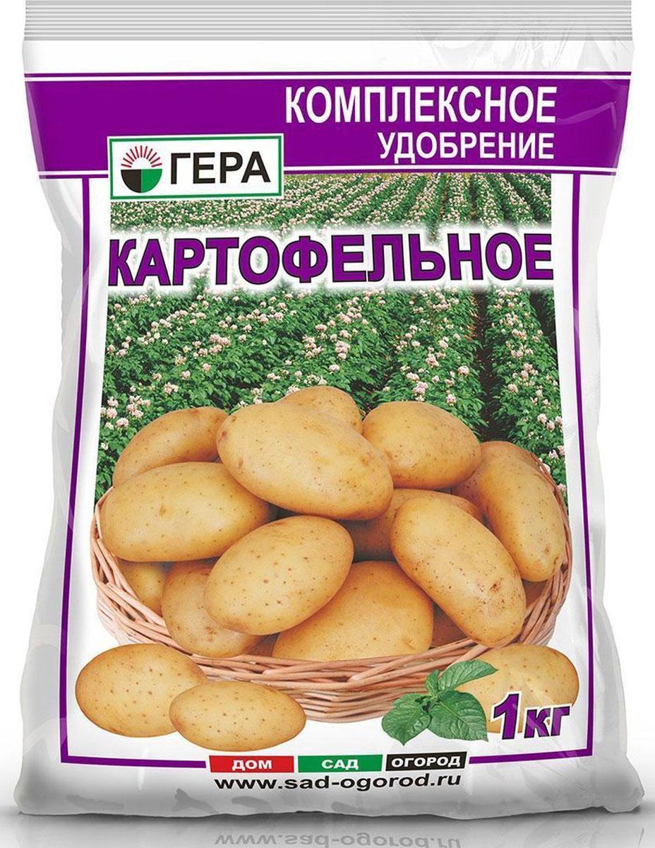 Удобрение Гера Картофельное, 1 кг удобрение ому картофельное 5кг