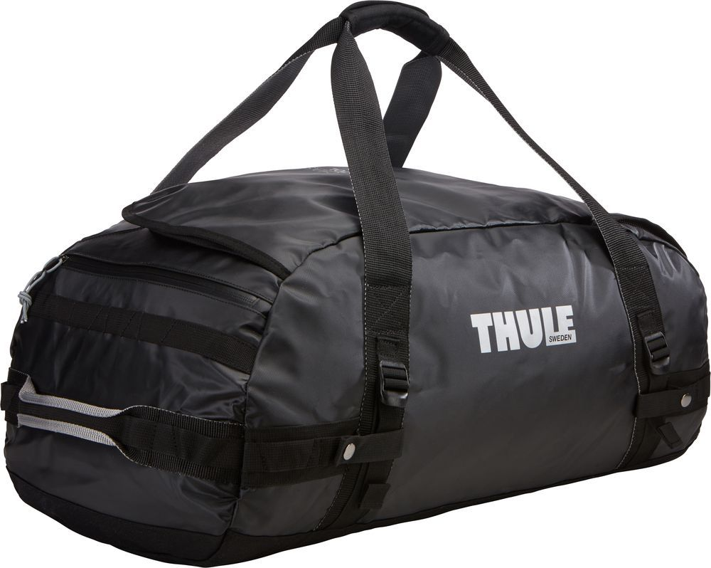 Спортивная сумка-баул Thule Chasm, цвет: черный, 70 л. Размер M сумка баул туристическая thule chasm xs 201200 27л серый