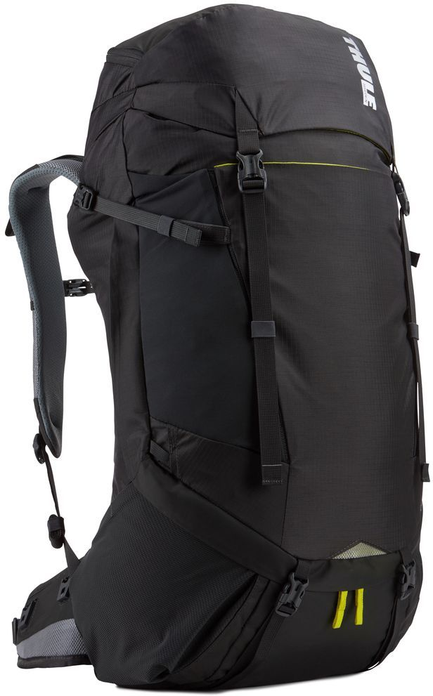 Рюкзак туристический мужской Thule Capstone, цвет: темно-серый, 40 л223200Туристический мужской рюкзак Thule Capstone подходит для путешествий на целый день или коротких путешествий с ночевкой. Имеет полностью регулируемую подвеску, воздухопроницаемую заднюю панель и дождевой чехол.Особенности:- Система крепления MicroAdjust позволяет отрегулировать ремень для торса на 10 см при надетом рюкзаке, чтобы добиться идеальной посадки.- Сеточная задняя панель натягивается, обеспечивая превосходную воздухопроницаемость и позволяя вам не потеть и оставаться сухим в пути.- Яркая съемная накидка от дождя обеспечивает сухость ваших принадлежностей во время ливней.- Карманы с застежкой-молнией на крышке и набедренном ремне для хранения солнцезащитных очков и других мелких предметов.- Эластичный карман Shove-it Pocket обеспечивает быстрый доступ к часто используемым предметам.- Боковые стягивающие ремни позволяют закрепить груз на петлях или снаружи рюкзака.- Крепления для трекинговых палок и ледоруба с эластичными стропами можно убрать, если они не используются.- Конструкция, предназначенная для хранения воды, включает карман для емкости с водой, отверстие для трубки и два боковых кармана для бутылок с водой (бутылки приобретаются отдельно).