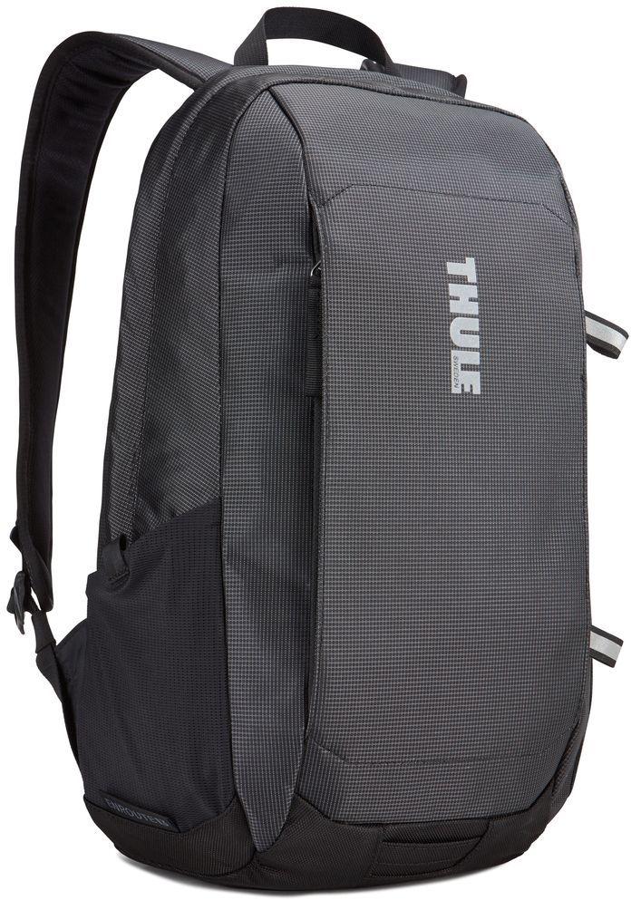 Рюкзак городской Thule EnRoute Daypack, цвет: черный, 13 л3203428Элегантный рюкзак с карманом SafeEdge для ноутбука и отделениями для хранения самых необходимых повседневных вещей.