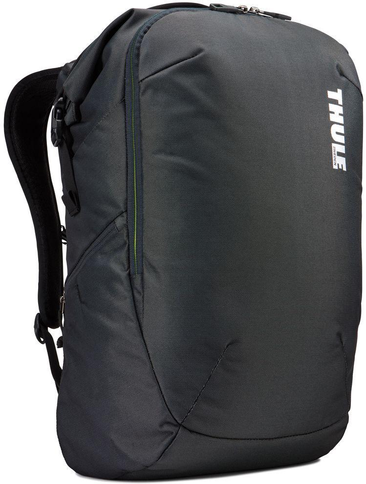 Рюкзак городской Thule Subterra Backpack, цвет: темно-серый, 34 л3203440Рюкзак двойного назначения, который можно использовать как дорожную сумку или как обычный рюкзак. Отделение для хранения вещей пригодится для дальних поездок, выньте его при повседневном использовании. Широкая заворачивающаяся горловина с магнитной застежкой позволяет легко доставать содержимое.Съемное отделение для хранения вещей помогает поддерживать порядок и легко находить то, что нужно.Отделение с мягкой подкладкой и конструкцией SafeEdge для ноутбука (MacBook Pro с диагональю экрана 15 дюймов или ПК с диагональю экрана 15,6 дюйма).Специальный защитный карман с мягкой подкладкой для планшета.От внешнего аккумулятора во внутреннем отделении PowerPocket удобно заряжать различные устройства.Доступ к ноутбуку из верхнего отделения или через боковую молнию.Перфорированные наплечные ремни EVA с сетчатым покрытием и мягкой задней подушкой, пропускающие воздух, обеспечивают комфорт.Съемный регулируемый нагрудный ремень фиксирует наплечные ремни рюкзака и делает транспортировку более комфортной.Специальная панель для надежного крепления к дорожным сумкам на колесах помогает путешествовать с удобством.Внутренний карман с мягкой подкладкой для ценных вещей, например очков или телефона.Удобные отделения-органайзеры упрощают размещение мелких предметов.В растягивающемся боковом кармане на молнии безопасно хранятся небольшие предметы и помещается бутылка воды.