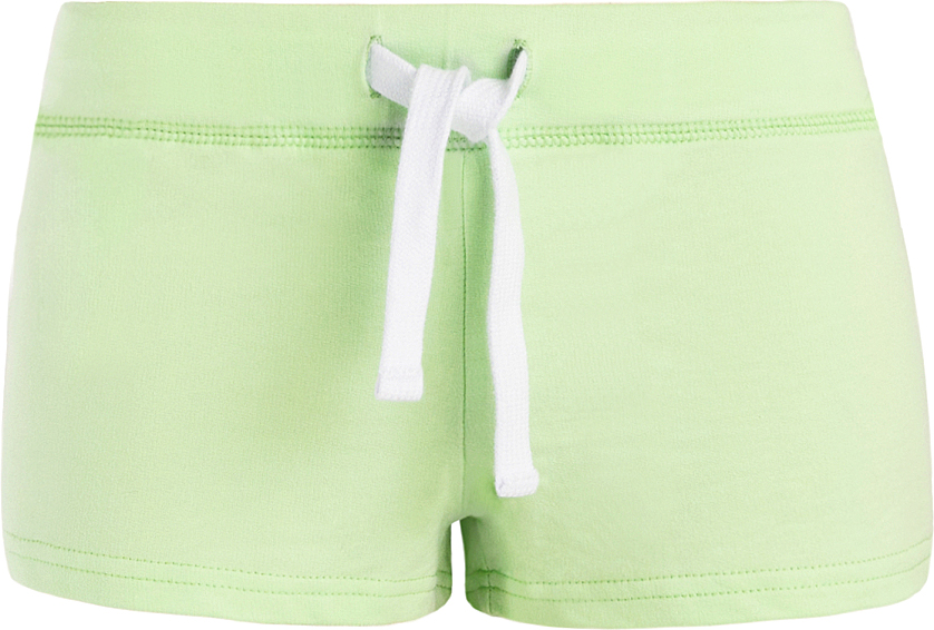 Шорты женские oodji Ultra, цвет: зеленый. 17001029-4B/46155/6A00N. Размер XXS (40)