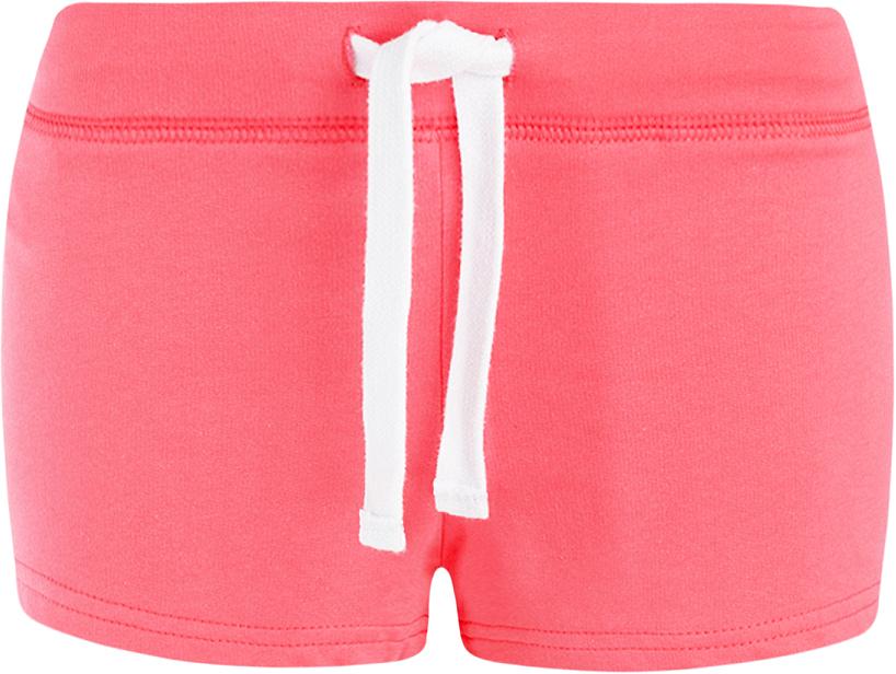 Шорты женские oodji Ultra, цвет: ярко-розовый. 17001029-4B/46155/4D00N. Размер S (44)17001029-4B/46155/4D00NСтильные женские шорты oodji Ultra изготовлены из натурального хлопка.Шорты стандартной посадки имеют эластичный пояс на талии, дополненный шнурком.