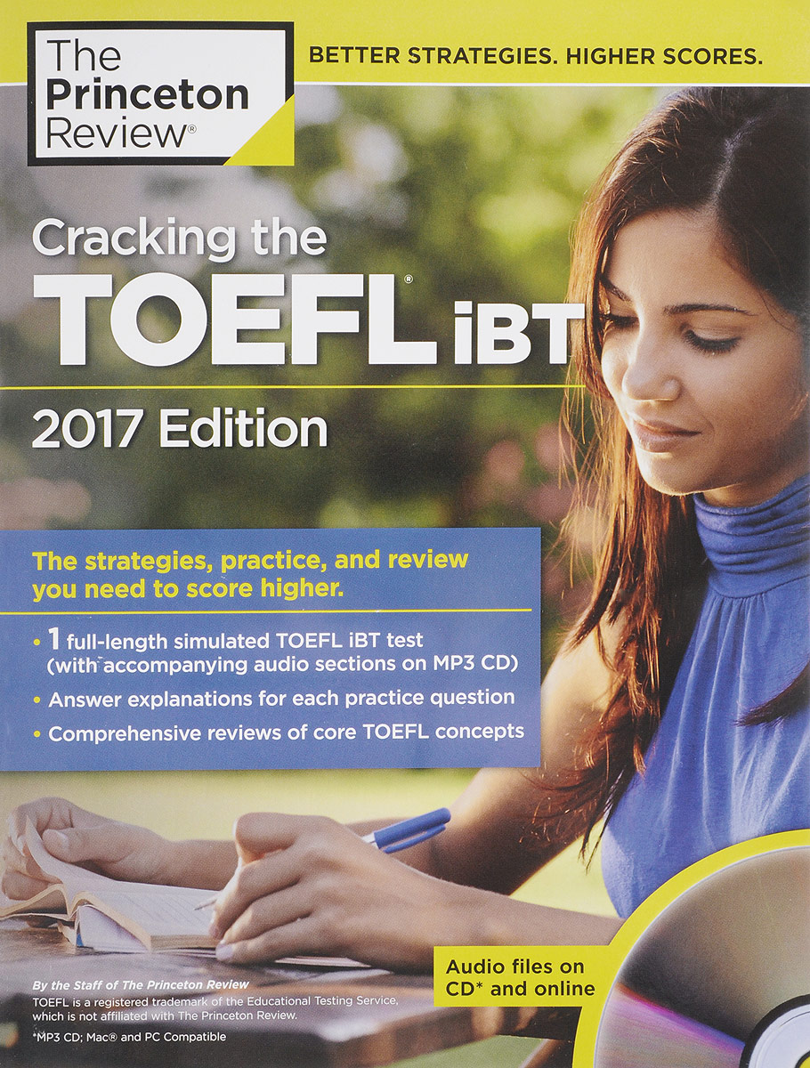 Cracking the TOEFL iBT (+ CD) longman preparation course for the toefl test ibt with answer key cd rom