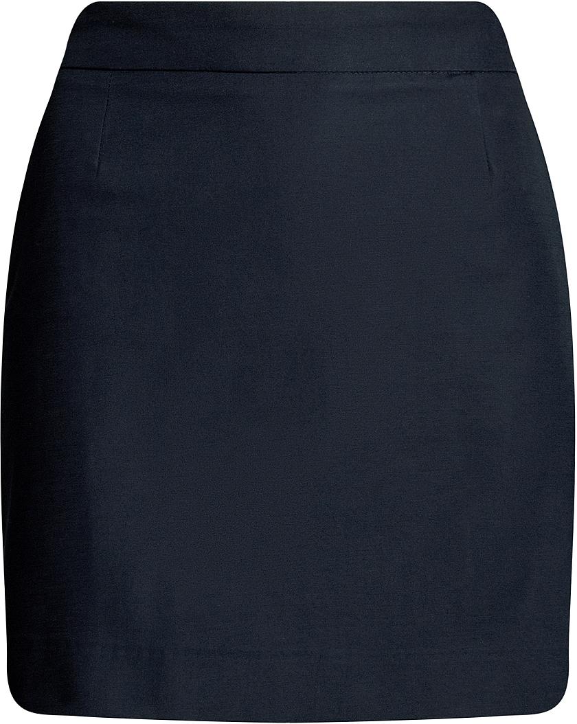 цены Юбка oodji Ultra, цвет: темно-синий. 11601183-2/45256/7900N. Размер 44-170 (50-170)