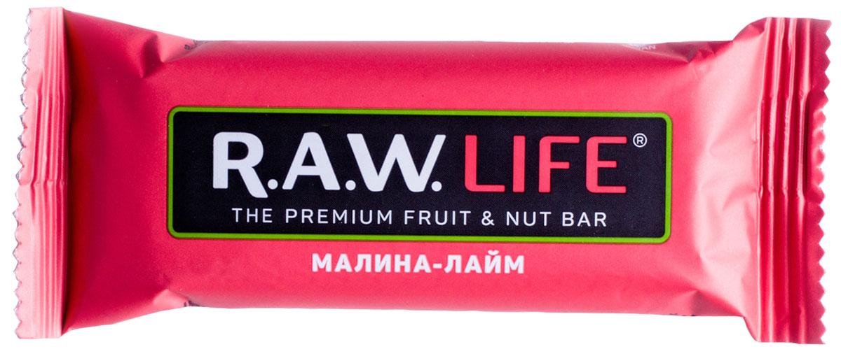 R.A.W.LIFE Малина-Лайм орехово-фруктовый батончик, 47 г00107Сочетание кисло-сладкой малины и лайма в этом батончике поднимает настроение. Представьте этот ягодно-фруктовый микс с крупными кусочками миндаля и кешью – это очень вкусно. И полезно. Малина улучшает цвет лица, нормализует и регулирует работу нервной системы, а лайм только усиливает дозу витамина C и антиоксидантов в этом батончике R.A.W.LIFE. И пусть энергия бьет ключом для новых приключений.