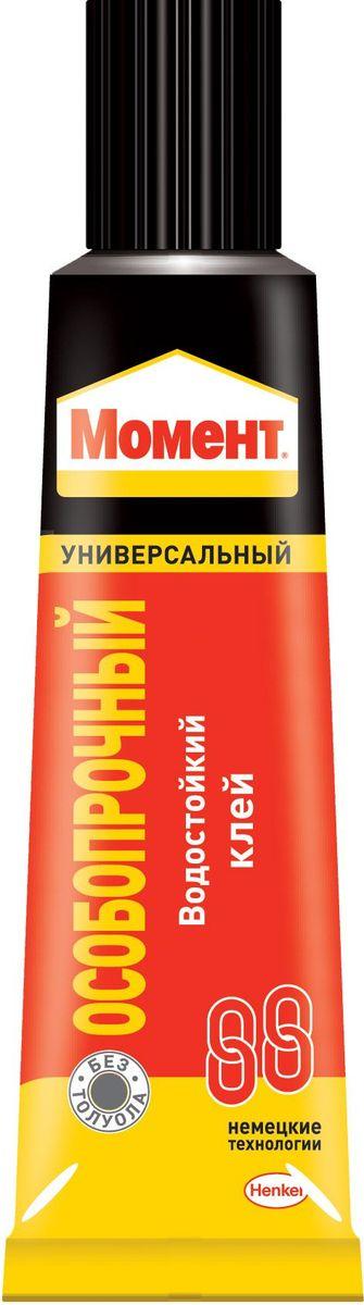 Клей Момент 88, особопрочный, 125 мл1273052Особопрочный клей Момент 88 предназначен для склеивания резины, кожи, металлов, полистирола, оргстекла и других пластиков, пробки, стекла, керамики, бетона. Не под ходит для склеивания посуды, контактирующей с пищей, стиропора, полиэтилена и полипропилена.Клей Момент 88 - отличное решение для повышенных требований. Это универсальный контактный клей, устойчивый к воздействию воды, мороза, старению и гарантирующий высокую прочность склеивания.