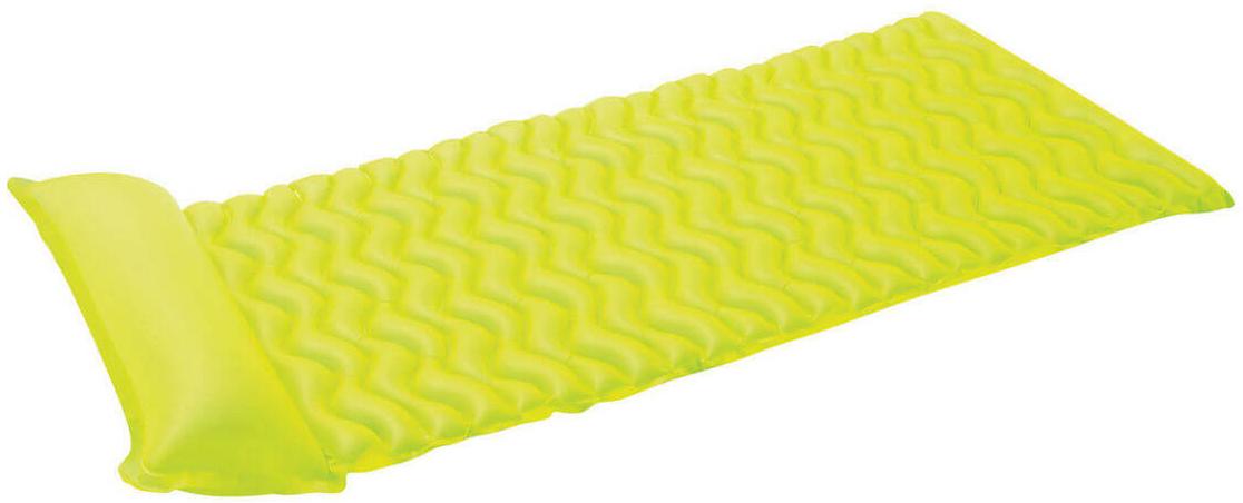 Надувной матрас Intex Тот-Н-Флот, цвет: зеленый, 229 х 86 см. с58807с58807Размер: 229х86 смНасос: даВес: 1,293 кгМатериал: ПВХ пленка