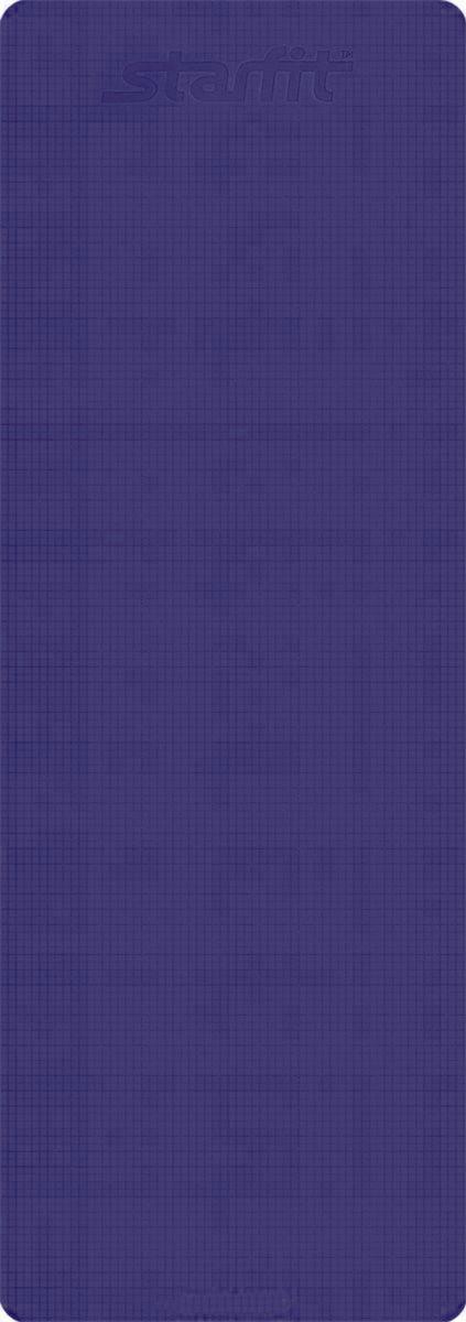 Коврик для йоги Starfit  FM-101 , цвет: фиолетовый, 173 х 61 х 0,3 см - Инвентарь