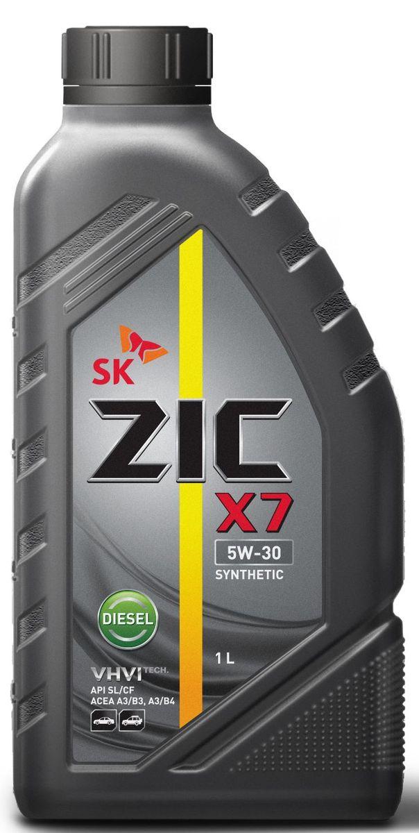 Масло моторное ZIC X7 Diesel, синтетическое, класс вязкости 5W-30, API SL/CF, 1 л132610Всесезонное синтетическое моторное масло в ZIC X7 Diesel предназначено для дизельных двигателей малого и среднего объемов. Оно изготовлено на основебазового масла YUBASE и сбалансированного пакета современных присадок. Адаптировано к дизельному топливу российских стандартов. Плотность при 15°C: 0,8527 г/см3.Температура вспышки: 222°С. Температура застывания: -40°С.